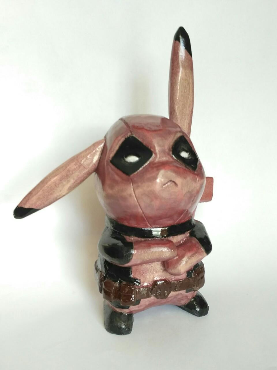 Покемон Пикачу-Дэдпул