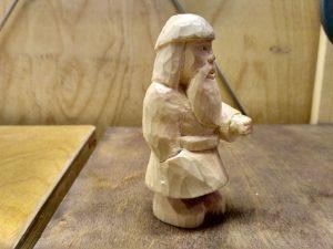 Гном - шахтер, золотоискатель (процесс)