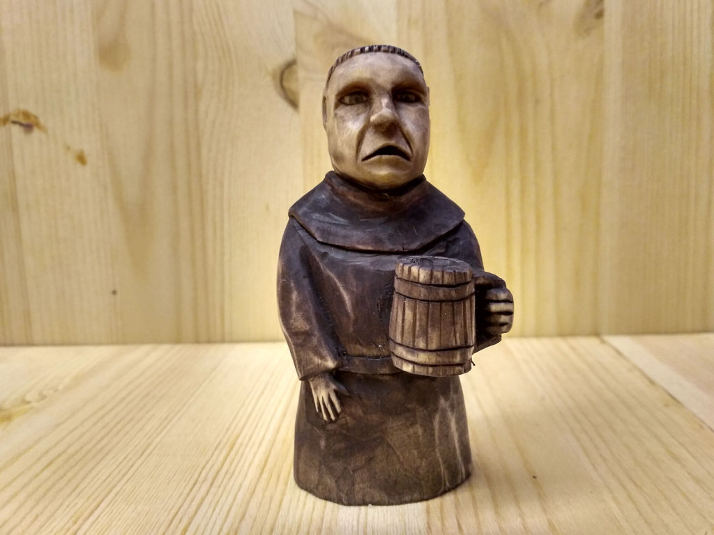 Монах с пивом
