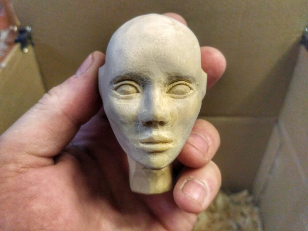 wooden ball-jointed doll